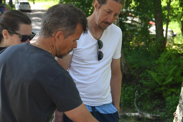 Teknisk kordinator Robert berättar om restaurering
