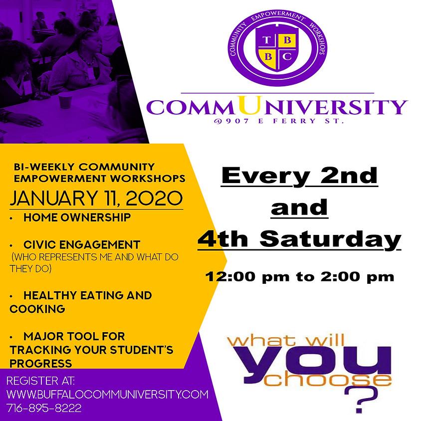 January 11 - Communiversity Sessions