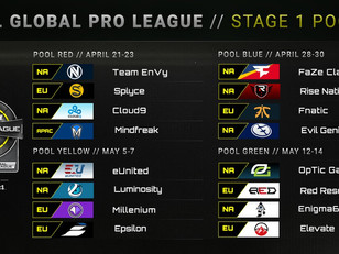 Call of Duty World League pools for stage 1 are set