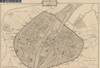 סיור ברחובות פריס: רחובות ובתים בפריס במאה ה-13