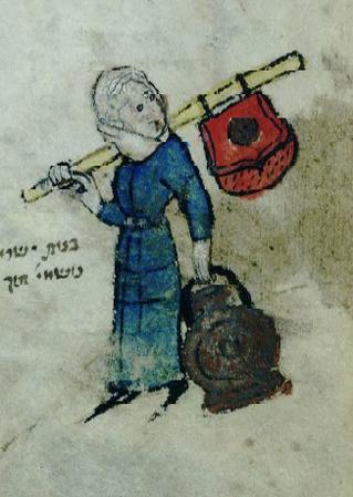 אישה עם זקן: כיצד עברו ממקום למקום בימי הביניים?