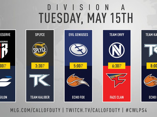 Call of Duty World League Pro League Stage 2 begins this week