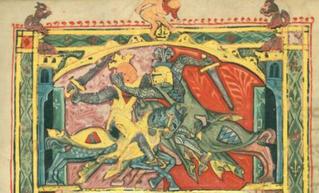 בחורים יהודים בימי הביניים וערכי הגבריות האבירית