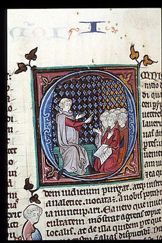 על חינוך נערים בימי הביניים