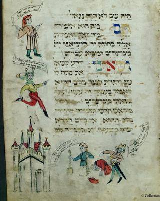 ארבעת הבנים בהגדה יהודית בימי הביניים