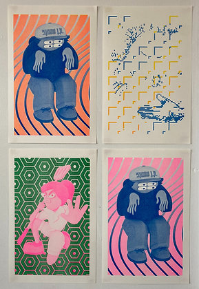 Risographs by Conor Behrens