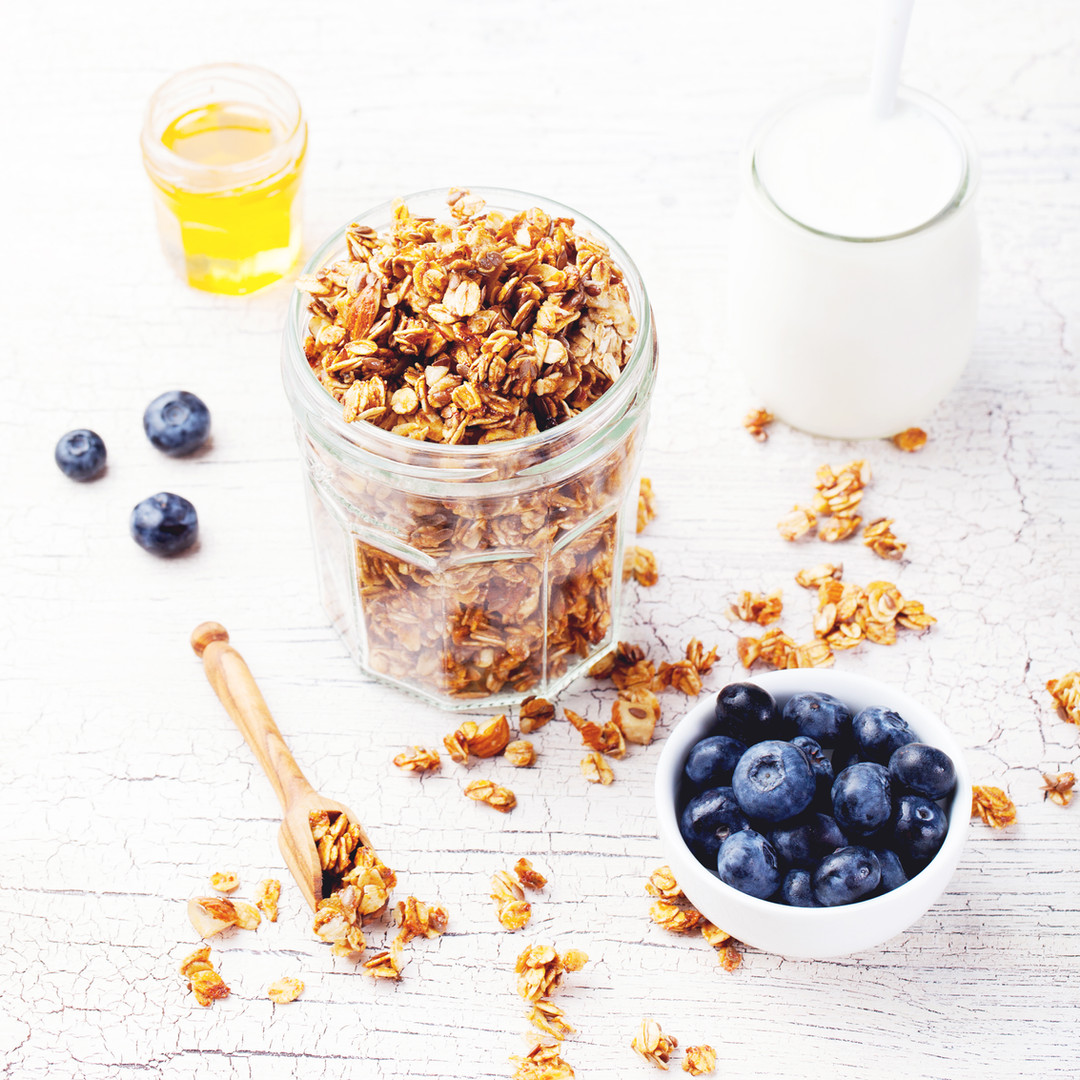 Blueberry Granola with Chia