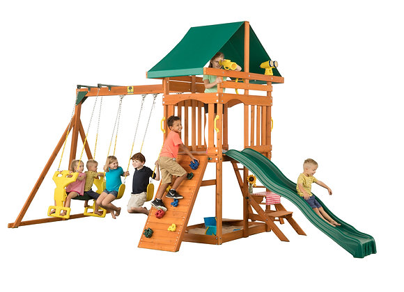 Sky View Cedar Wood Swing Set