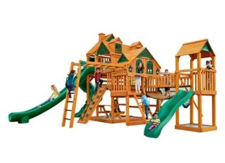 Empire Extreme Cedar Swing Set by Gorilla