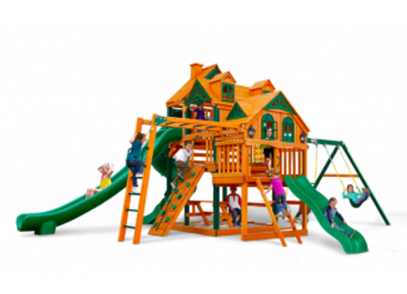 Empire Cedar Swing Set by Gorilla