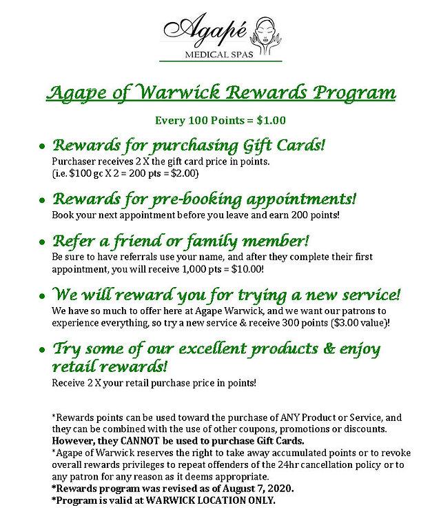 Agape of Warwick Rewards Program.jpg