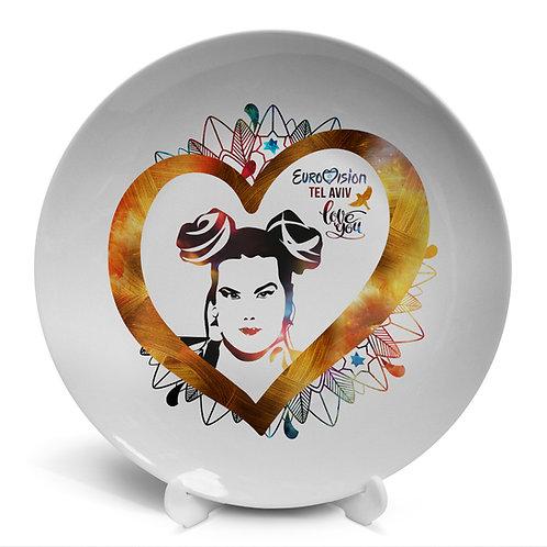 Plate «Eurovision Tel Aviv»