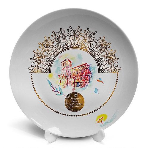 Plate «Jerusalem. Church of the Holy Sepulcher»