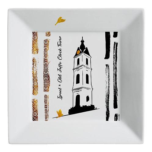 Plate «Jaffa clock»