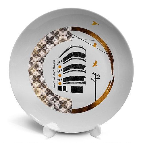 Plate «Tel Aviv. Bauhaus»