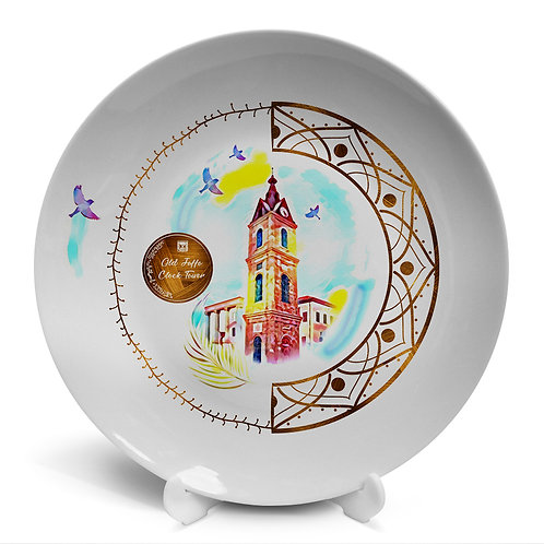 Plate «Tel Aviv. The Jaffa Clock »