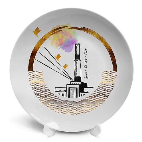 Plate «Tel Aviv Port. Power plant»