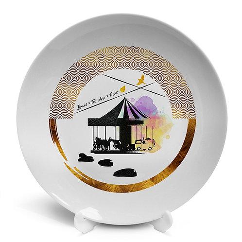 Plate «Tel Aviv Port. Сarousel»