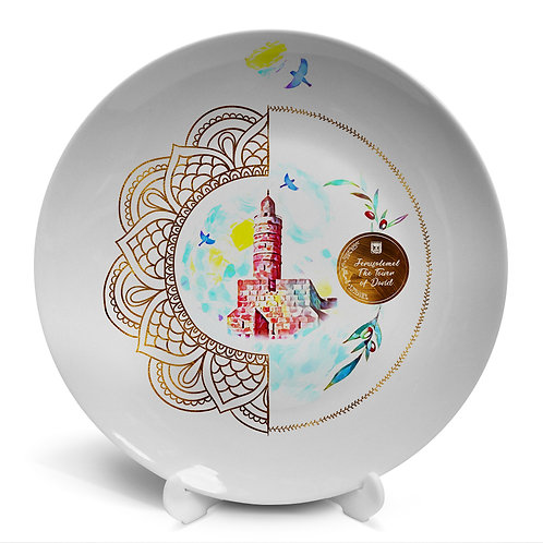 Plate «Jerusalem. The Tower of David»