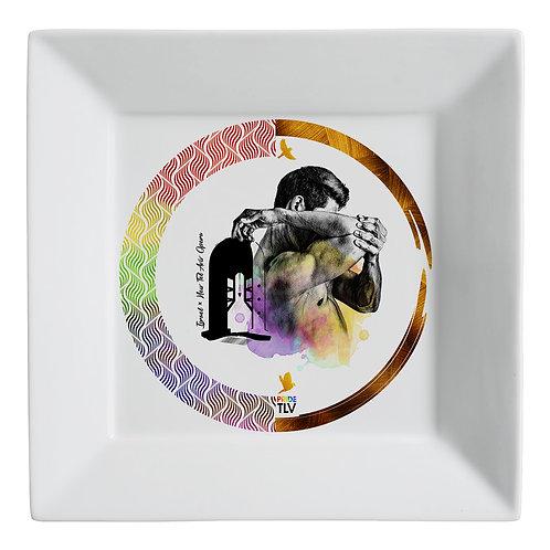 Plate (small) «PRIDE TLV. Opera»