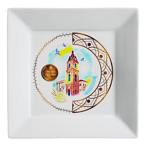 Plate «Tel Aviv. The Jaffa Clock »