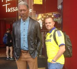 Morgan Freeman & Coren Allen, NYC