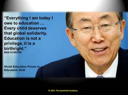Ban Ki-moon, Secretary-General, UN