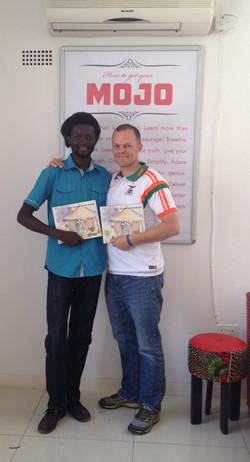 Mumba Yachi and Coren Allen at Mojo