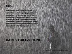 Rain is for Everyone