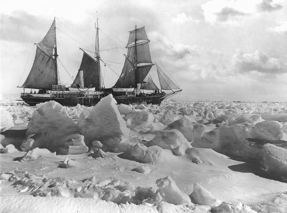 The Ship Endurance - Sir Ernest Shackleton's 1914 Imperial Trans-Antarctic Expedition.