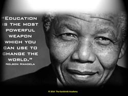 Nelson Mandela, President, S. Africa