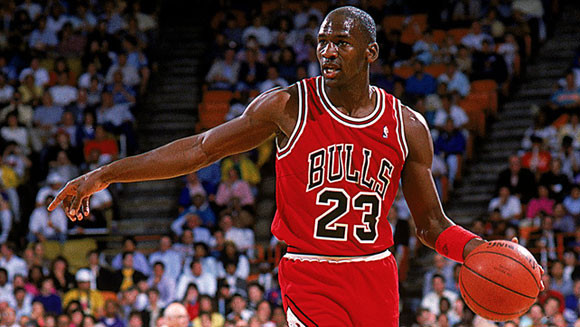 6-time NBA Champion and Hall of Fame American Basketball great Michael Jordan