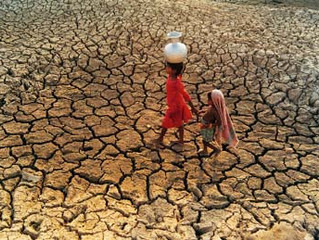 Drought conditions of soil and soul...