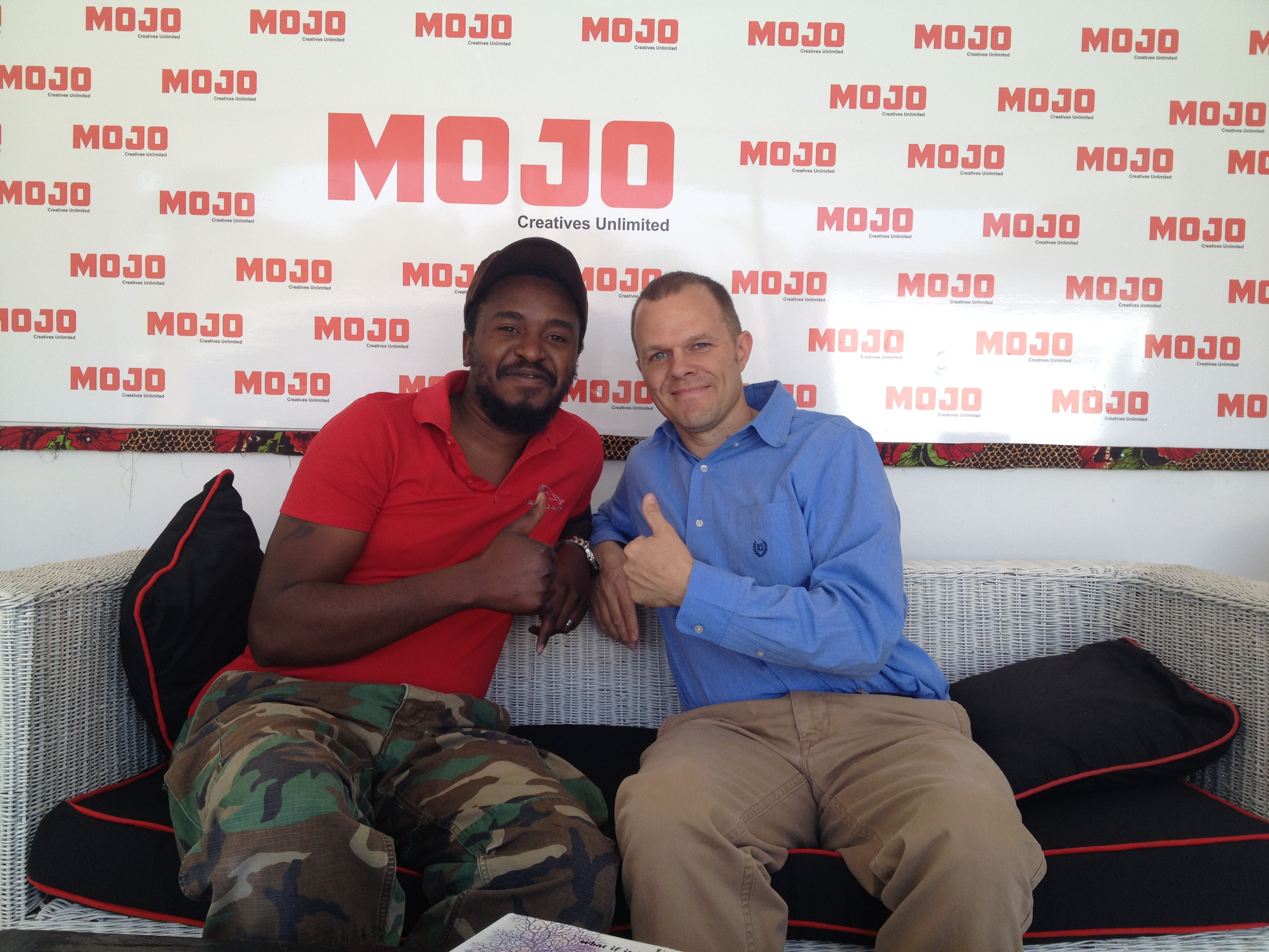 John Mwanza and Coren Allen Mojo
