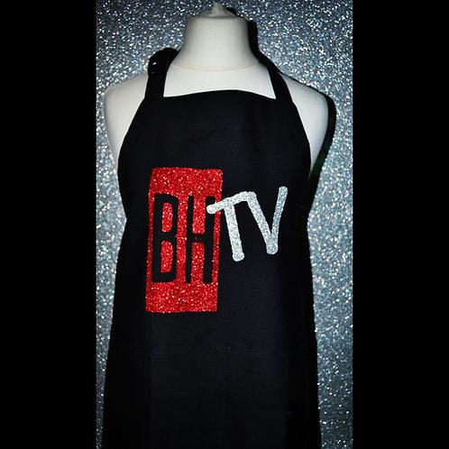 BHTV BLACK GLITTER APRON