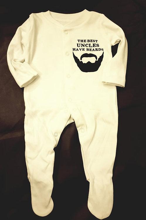 Beard Babygrow