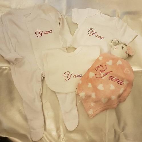 Babygrow & Comforter Set
