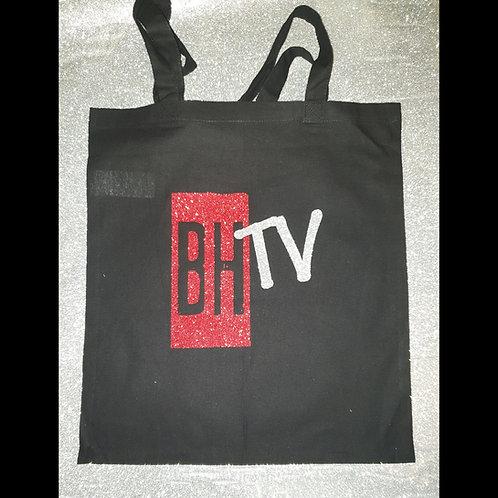 BHTV GLITTER TOTE BAG