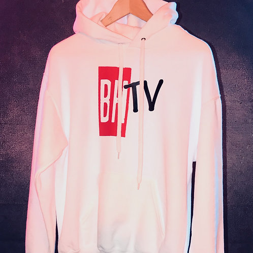 BHTV WHITE HOODIE