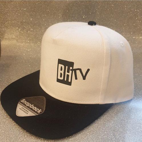 BHTV SNAPBACK CAP (plain black design)