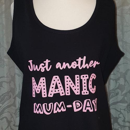MANIC MUM-DAY Vest Top