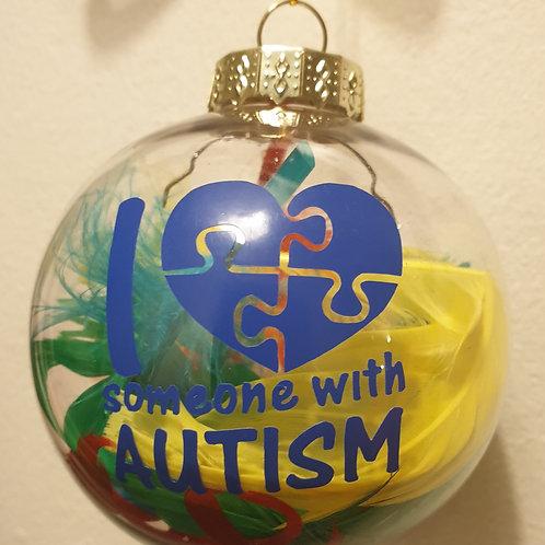 Autism Bauble No Bow