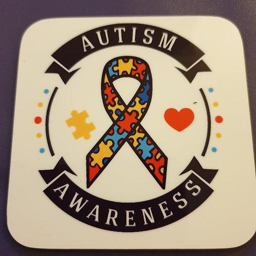 Autism Awareness Coaster