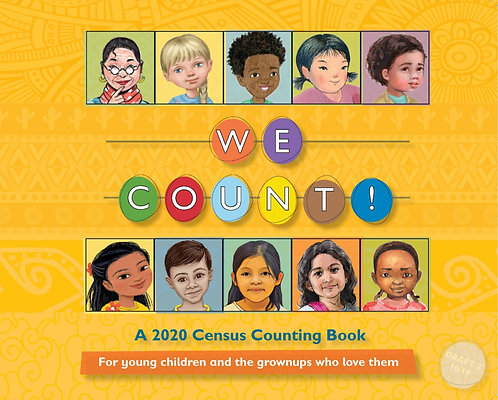 A Box of 100 WE COUNT! Books in English or Spanish