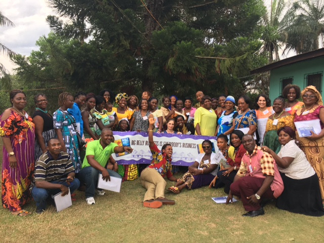 Retreat in Liberia brings together trained BB Sisters