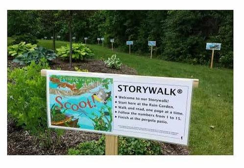 Storywalk Book posters