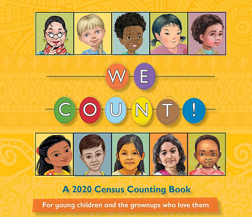 A Box of 50 WE COUNT! books in English or Spanish