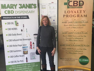 Welcome our new member, Mary Jane's CBD Dispensary!