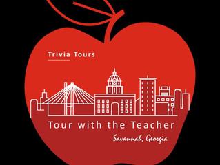 New Savannah Trivia Tour: Tour With The Teacher - A guided walking tour with trivia.