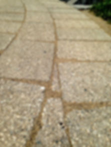 An example of the perfect installaton of polymeric sand